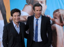 "Jason Bateman and Ryan Reynolds attend the premiere of ""The Change-Up"" in Los Angeles"