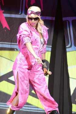 Keri Hilson performs in concert in West Palm Beach, Florida