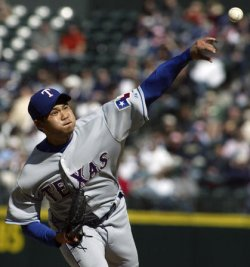 TEXAS RANGERS VS SEATTLE MARINERS