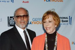 Brian Miller and Carol Burnett attend Backstage at the Geffen fundraiser in Los Angeles