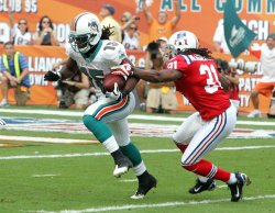 Miami Dolphins Vs New England Patriots in Miami