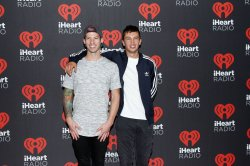 Twenty One Pilots arrive for the iHeartRadio Music Festival
