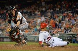 Baltimore Orioles vs Washington Nationals in Washington