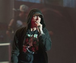 Eminem performs at the 2014 Squamish Valley Music Festival