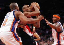 Portland Trail Blazers vs New York Knicks