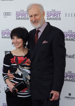 James Cromwell and Anne Ulvestad attend the Film Independent Spirit Awards in Santa Monica, California