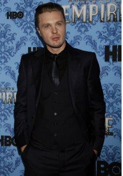 "Michael Pitt arrives for the ""Boardwalk Empire"" Premiere in New York"
