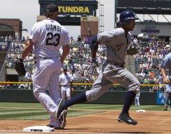 Colorado Rockies Host the Milwaukee Brewers in Denver