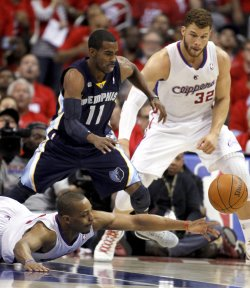 Los Angeles Clippers vs. Memphis Grizzlies Game 6 NBA Western Conference Playoffs in Los Angeles