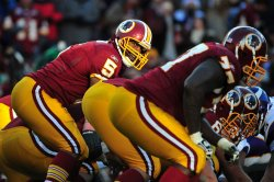 Redskins quarterback Donovan McNabb in Washington