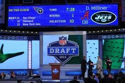 NFL Draft at Radio City Music Hall in New York
