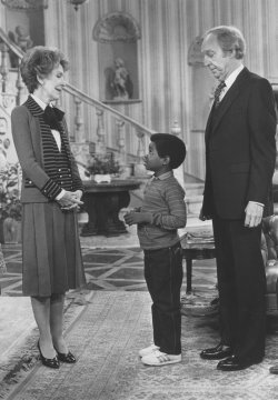 Nancy Reagan with Gary Colman