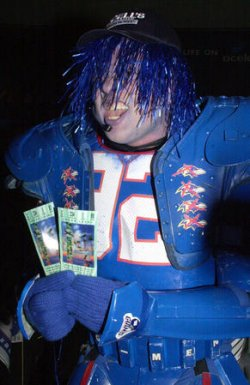SUPERBOWL 2001 COSTUME COMPETITION