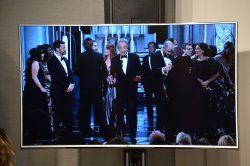 "Wrong ""Best Picture"" announced at the 89th annual Academy Awards in Hollywood"