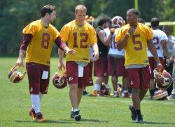 Washington Redskins Hold Team Training in Ashburn, Virginia