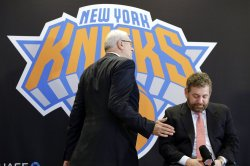 Phil Jackson introduced as New York Knicks president of basketball operations