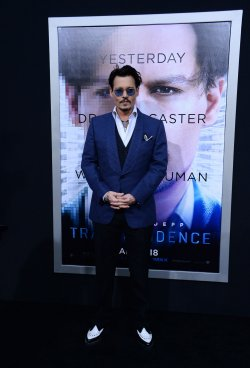 """Transcendence"" premiere held in Los Angeles"