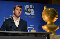 Garrett Hedlund announces the nominees for the 75th Golden Globe Awards in Beverly Hills