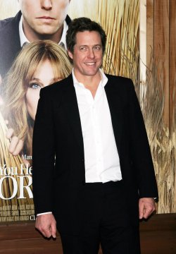 """Hugh Grant arrives for the Premiere of """"Did You Hear About The Morgans"""" in New York"""