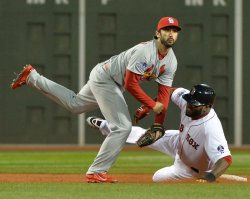 World Series Game 2 St. Louis Cardinals at Boston Red Sox