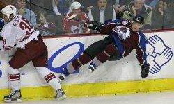NHL PHOENIX COYOTES VS COLORADO AVALANCHE