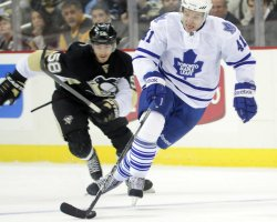 Pittsburgh Penguins vs Totonto Maple Leafs in Pittsburgh