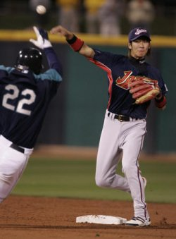TEAM JAPAN V SEATTLE MARINERS EXHIBITION