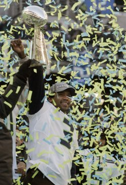 Seattle Seahawks Super Bowl XLVIII Celebration