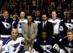 St. Louis Blues vs Edmonton Oilers hockey