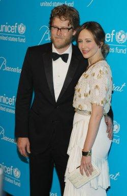 Renn Hawkey and Vera Farmiga attend the UNICEF Snowflake Ball in New York