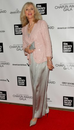Blythe Danner attends the 40th Annual Chaplin Award Gala in New York