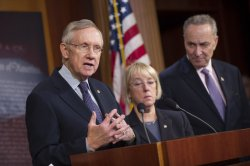 Democrats speaks on the Budget Deal in Washington, D.C.