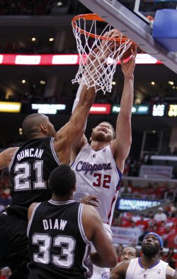 Los Angeles Clippers vs. San Antonio Spurs Game 3 NBA Western Conference semifinals in Los Angeles