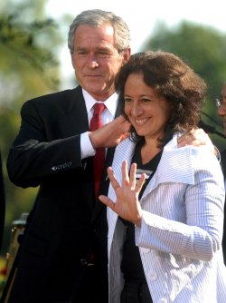 President Bush participates in Hispanic Heritage Month celebration in Washington