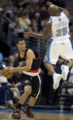 NBA Portland Trailblazers vs Denver Nuggets