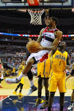 Washington Wizards vs Indiania Pacers in Washington