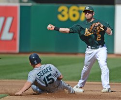 Oakland A's vs Seattle Mariners in Oakland, California
