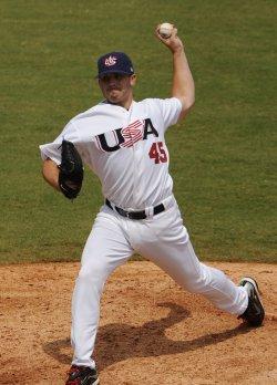 USA vs Canada baseball at 2008 Olympics in Beijing