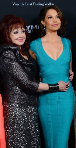 "Ashley Judd and Naomi Judd attend the ""Olympus Has Fallen"" premiere in Los Angeles"