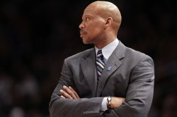 Cleveland Cavaliers head coach Byron Scott at Madison Square Garden in New York