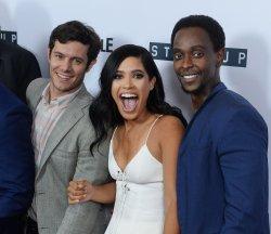 "Adam Brody, Otmara Marrero and Edi Gathegi attend Crackle's ""Startup"" premiere in West Hollywood"