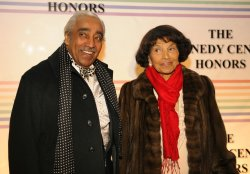 Rep. Rangel arrives for Kennedy Center Honors Gala in Washington DC