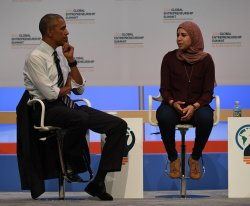 President Obama leads panel discussion at GES 2016