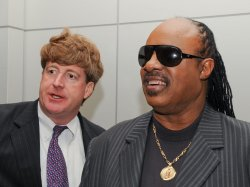 Stevie Wonder honored by AAPD in Washington