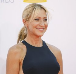 Edie Falco attends the 64th Primetime Emmy Awards in Los Angeles