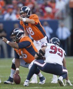 Houston Texans vs Denver Broncos Pre-season