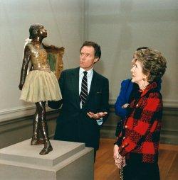 Nancy Reagan at National Gallery