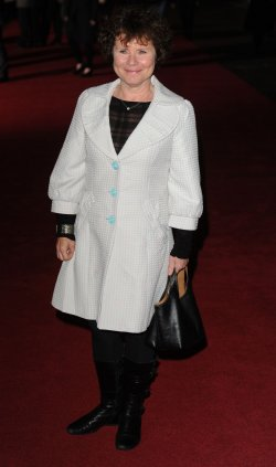 "Imelda Staunton attends the premiere of ""Another Year"" in London"