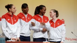 US Women's basketball team discusses Olympic medal bid in Beijing