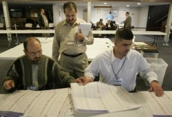 HUSSAIN OBSERVES NASHVILLE VOTE TABULATION